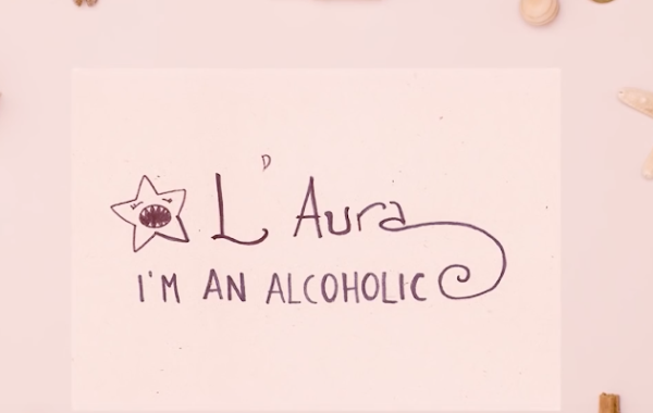 L'Aura – I'm an alcoholic (Lyric Video)